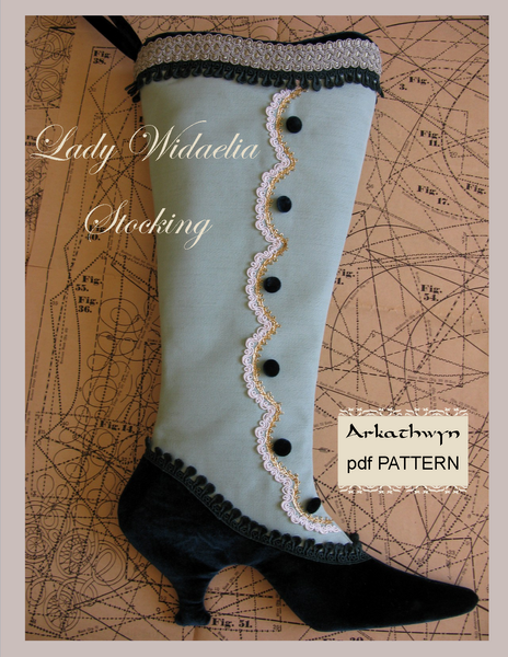 Victorian Christmas Stocking Pattern