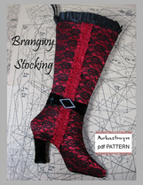 High Heel Stocking Pattern Brangwy