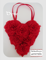 Heart Gift Bag Pattern Dyre