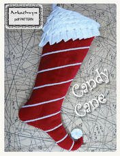 Candy Cane Stocking Pattern